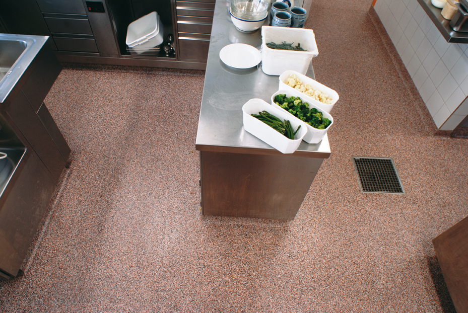 Commercial Kitchen Flooring American Concrete Polishing